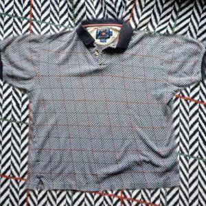 Chaps Ralph Lauren patterned polo